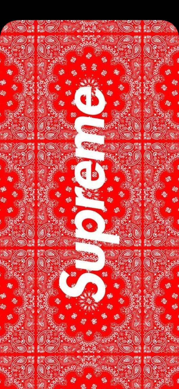 Louis Vuitton Supreme 壁紙 Supreme Red Fashion Wallpaper