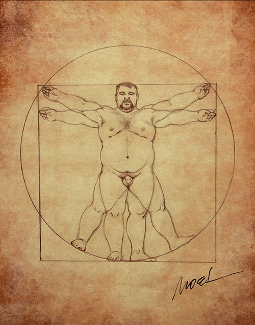 Gay chubby art