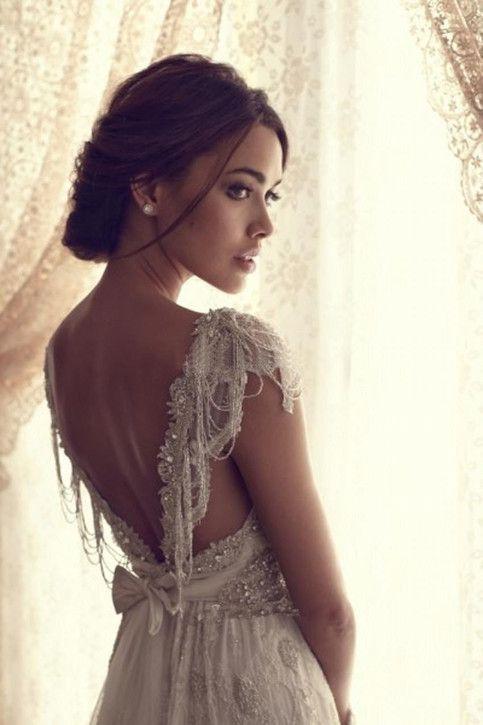 2016 Sexy V-neck lace wedding dress