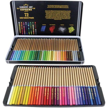 Colored Pencils 72 Pkg Multicolor Colored Pencils Sargent Art
