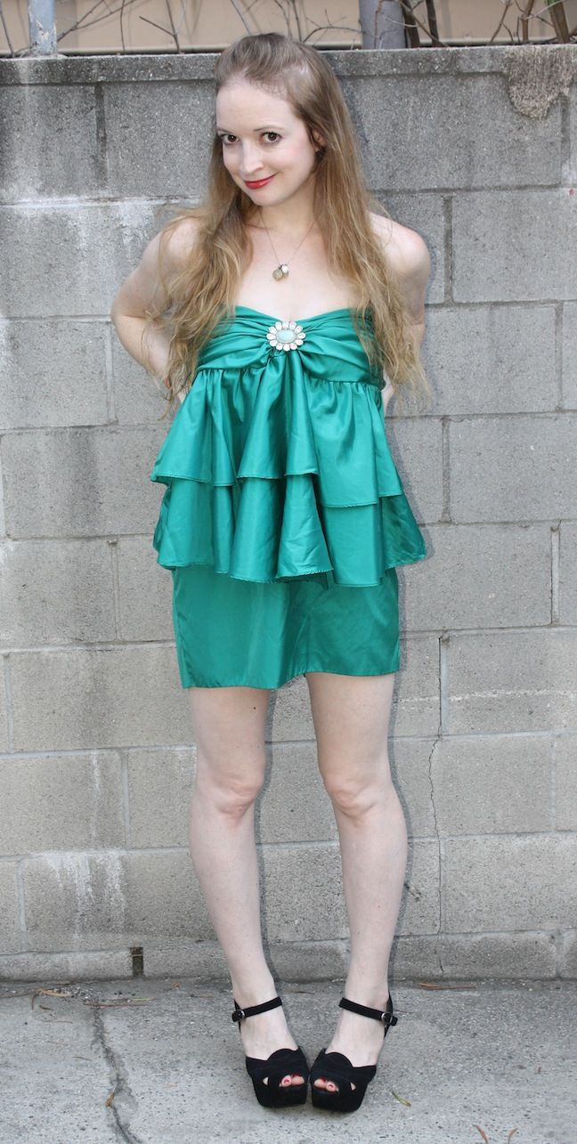 New Dress A Day - DIY - 80s Prom Dress - After | Dresses ...