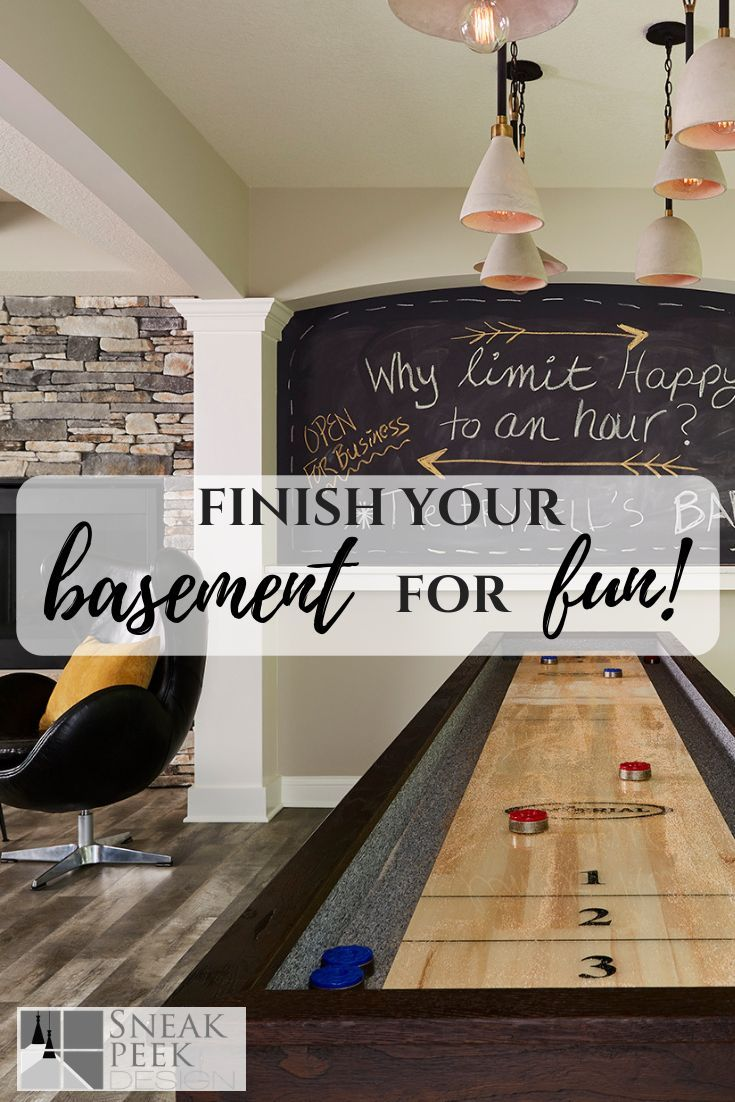 Basement Game Room Designs: New Basement Finish Project Reveal