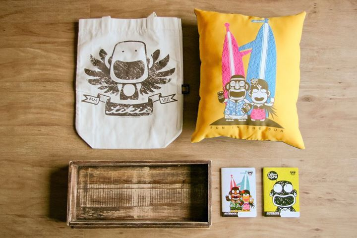 [TIKII PRODUCT] Happy Couple gift pack for happy couple, Happy Couple pillow, Tikii logo tote bag, Happy Couple A6 notebook, I'm your Hapii A6 notebook.  #TikiiLifestyle #TikiiMalaysia #TikiiFunintheSun  http://www.tikii.my