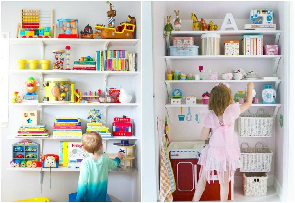 04 guardar jueguetes a la vista 2 deco pinterest - Ideas almacenaje juguetes ...