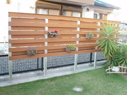 目隠しフェンスをDIYで作ろう。簡単な作り方や施工実例など