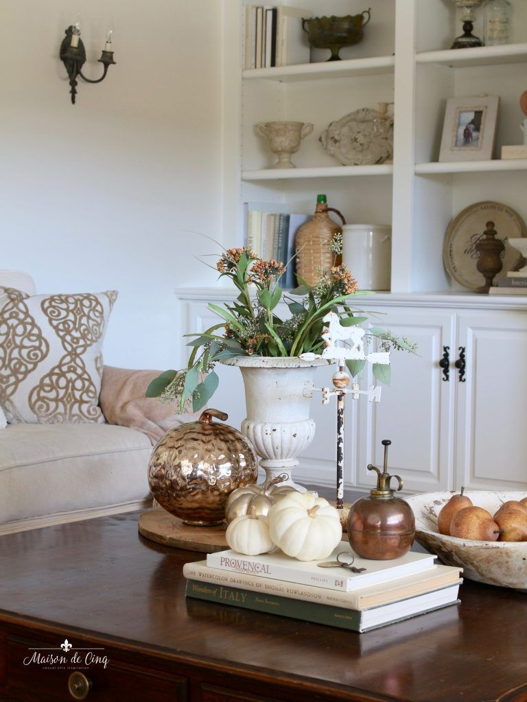 French country family room decorated in the warm colors of fall also my kitchen tour blogger home projects we love rh pinterest