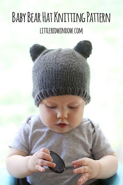 Baby Bear Hat Pattern By Cassandra May Bear Ears Bears And Pdf