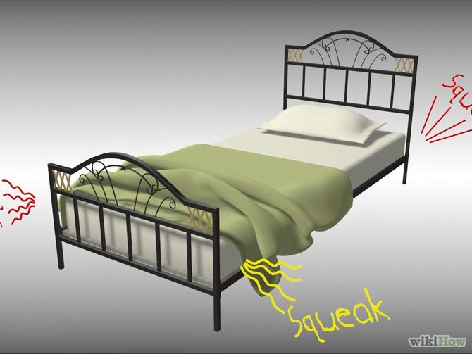 Fix A Squeaking Bed Frame Bed Frame Metal Bed Frame Bed Frame Hack