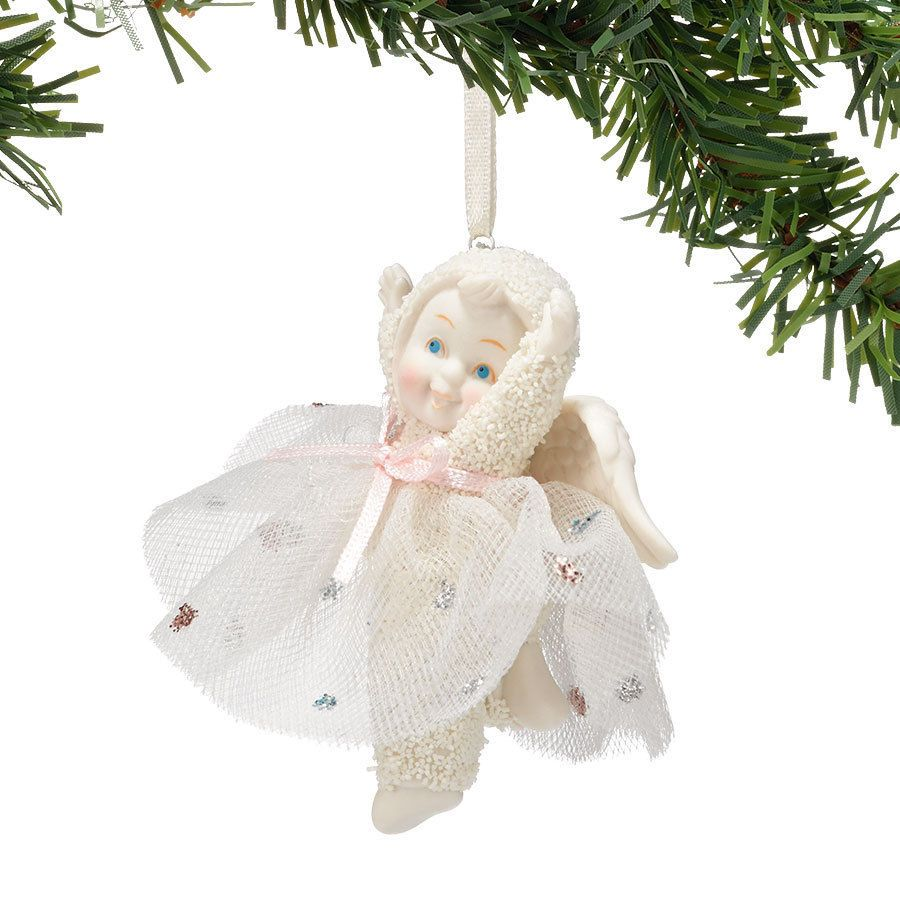 Snowbaby ornaments - Snowbabies Angel Of Joy Christmas Ornament By Department 56 4038103 Snowbabies