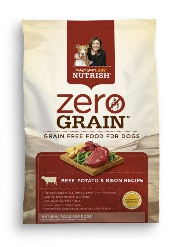Rachael Ray Nutrish Zero Grain Natural Dry Dog Food Beef Potato