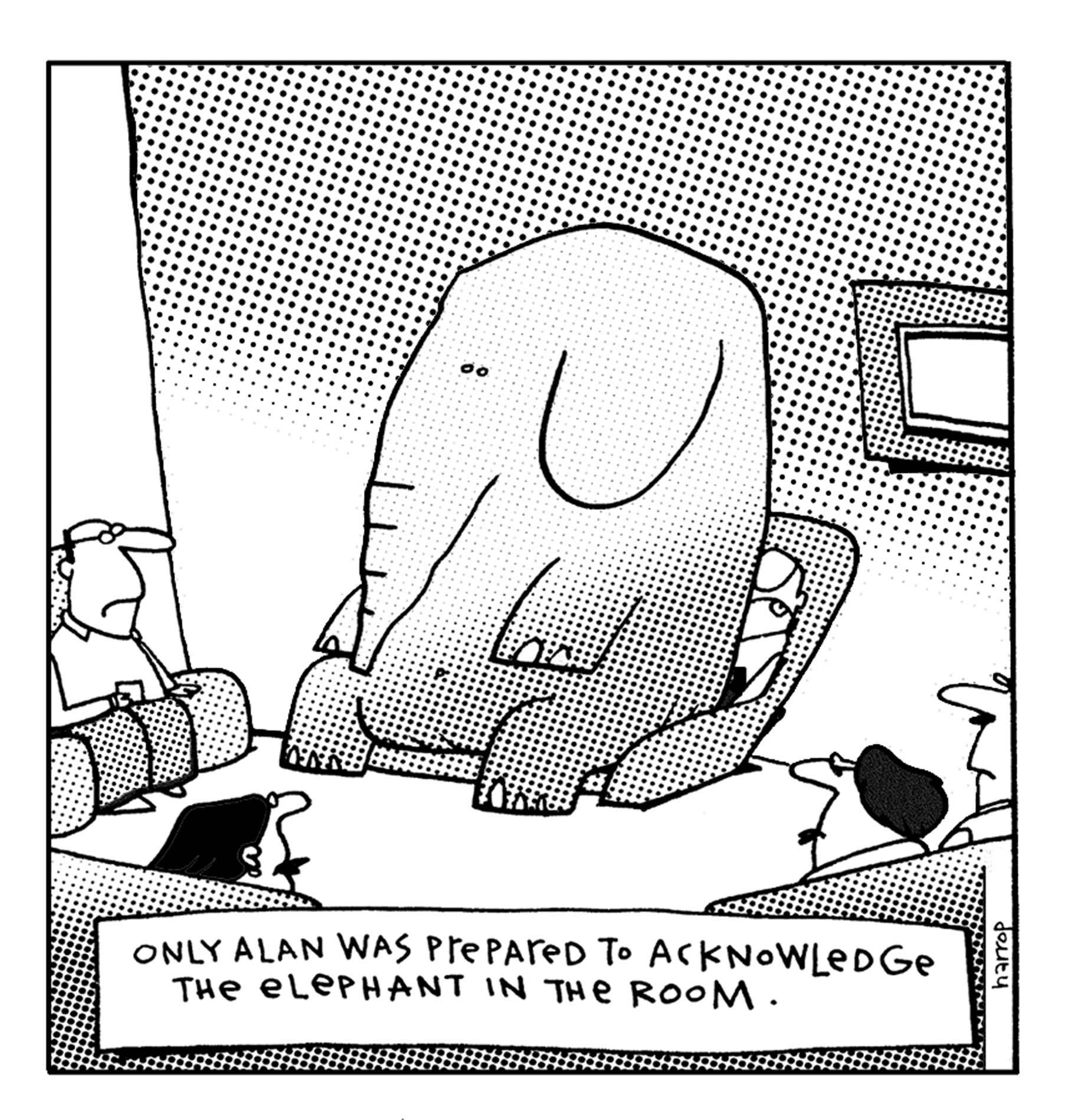 """The """"Grumpy"""" Poet – Don\'t Ignore the Elephant in the Room!   Keep ..."""