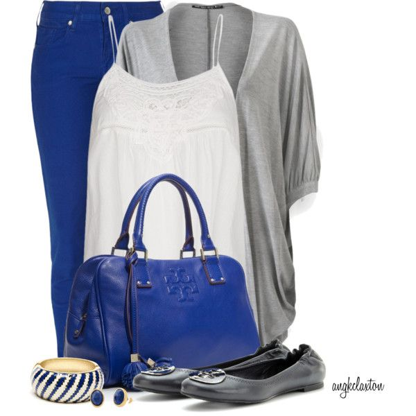 Electric Blue Skinny Jeans Contest, created by angkclaxton on Polyvore