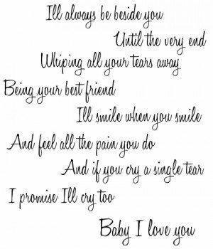 baby i love you quotes for him