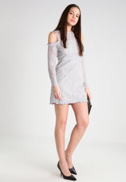 Fashion Union - NORAH - Freizeitkleid - grey