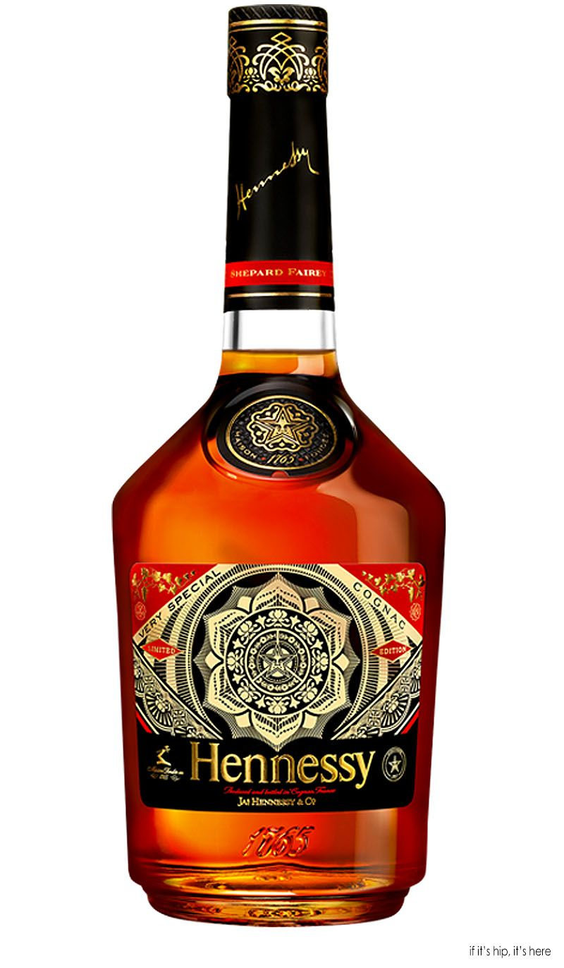 Hennessy V S Limited Edition By Shepard Fairey Cognac Drinks Wine And Liquor Bottle
