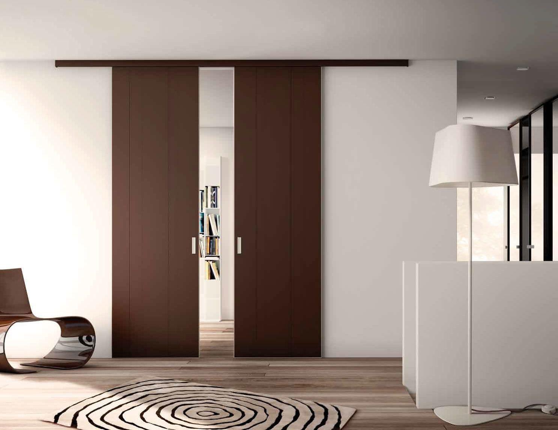 Puertas corredizas de madera buscar con google puertas - Correderas para puertas corredizas ...