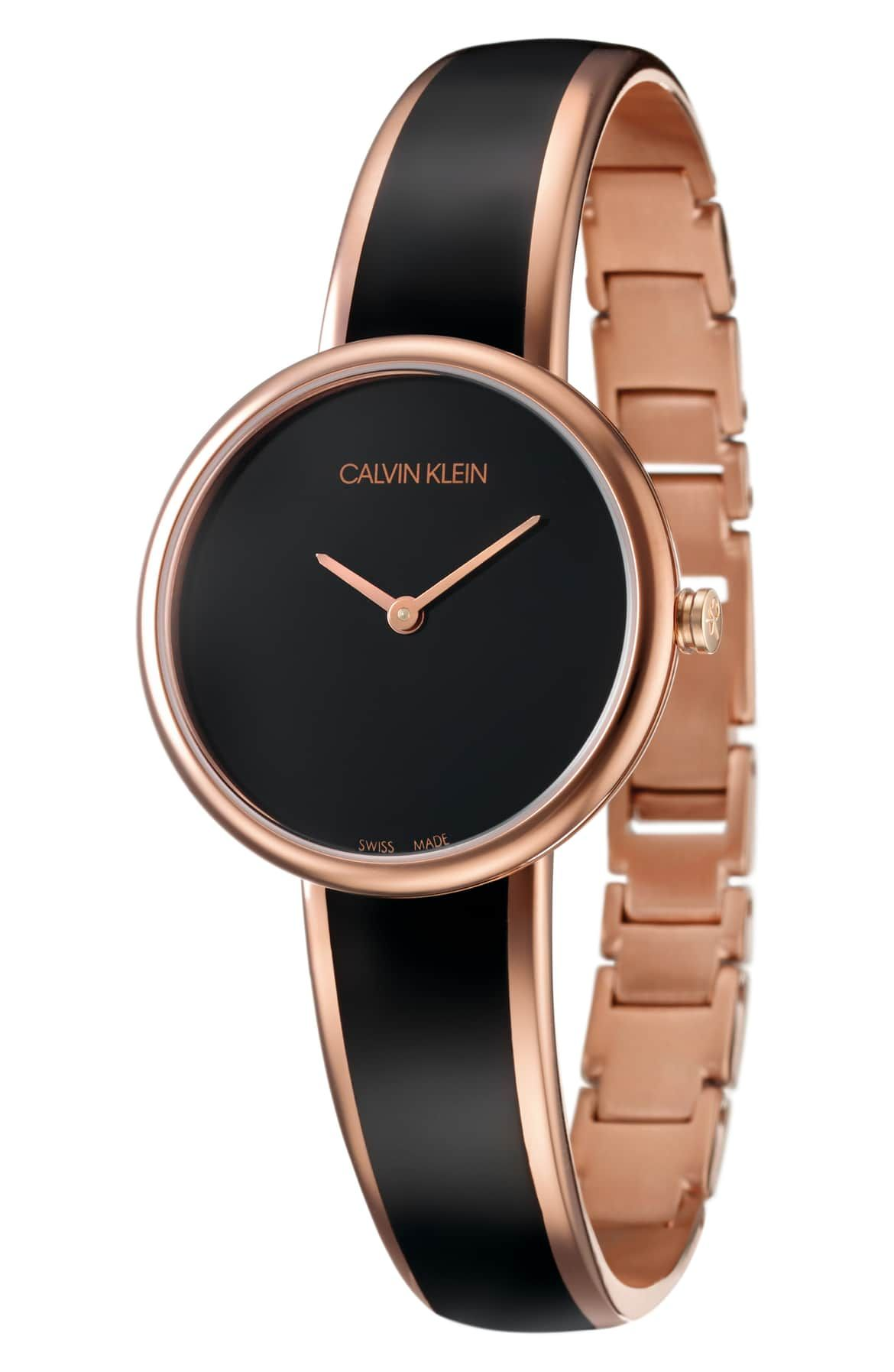 seduce bangle watch 30mm main color rose gold on watchman on the wall calvin id=77082