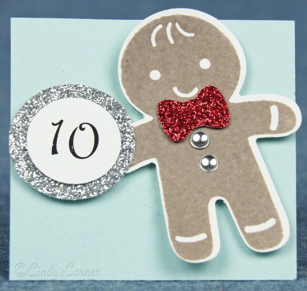 Advent Calendar Countdown to Christmas Day 10