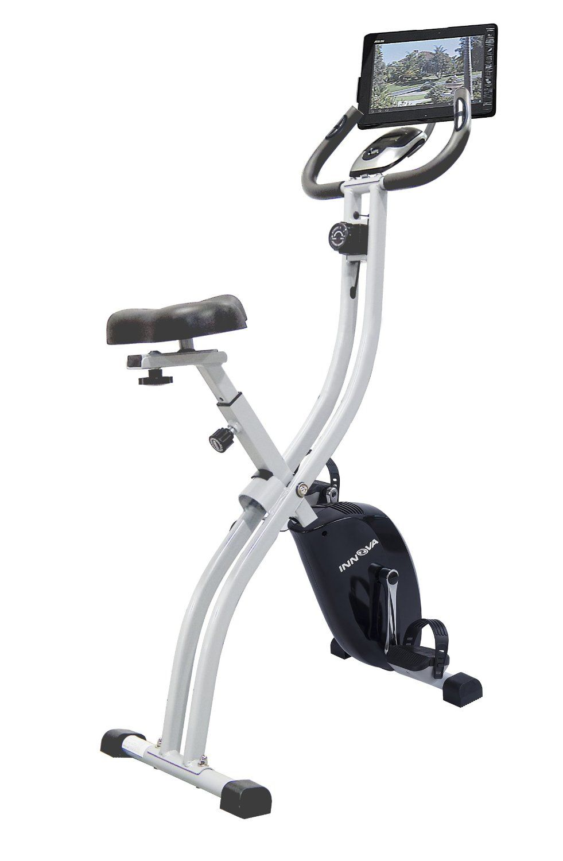 Innova health and fitness xb350 folding upright bike with