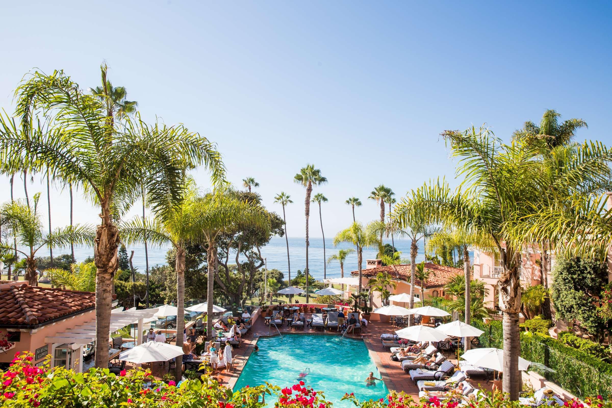 Pool With An Ocean View La Valencia Hotel La Jolla Ca La Valencia Hotel La Jolla Hotels San Diego Hotels