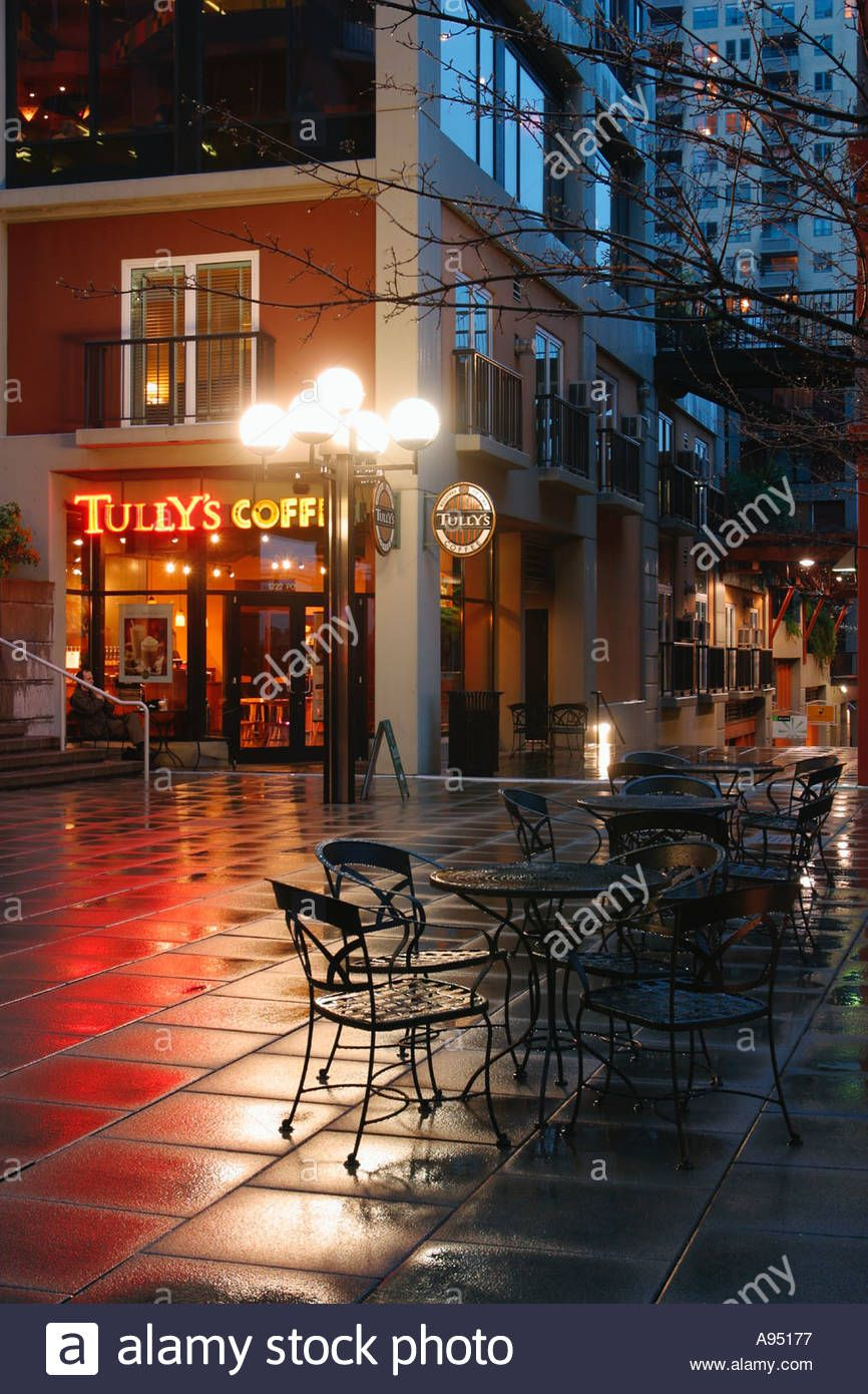 washington-seattle-tullys-coffee-shop-on-corner-harbor-steps-area-A95177.jpg (866×1390)