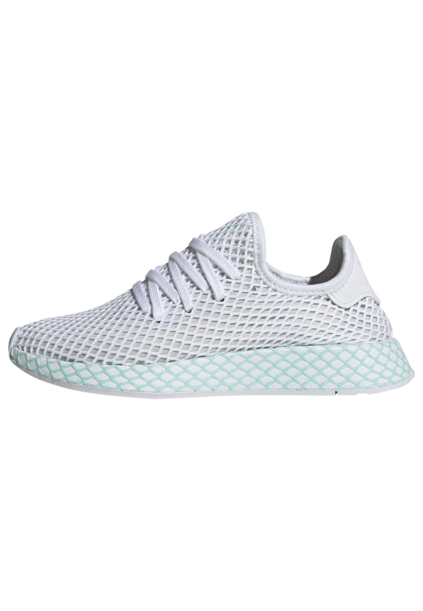 ADIDAS ORIGINALS Sneaker 'DEERUPT RUNNER' Damen, Mint / Weiß ...