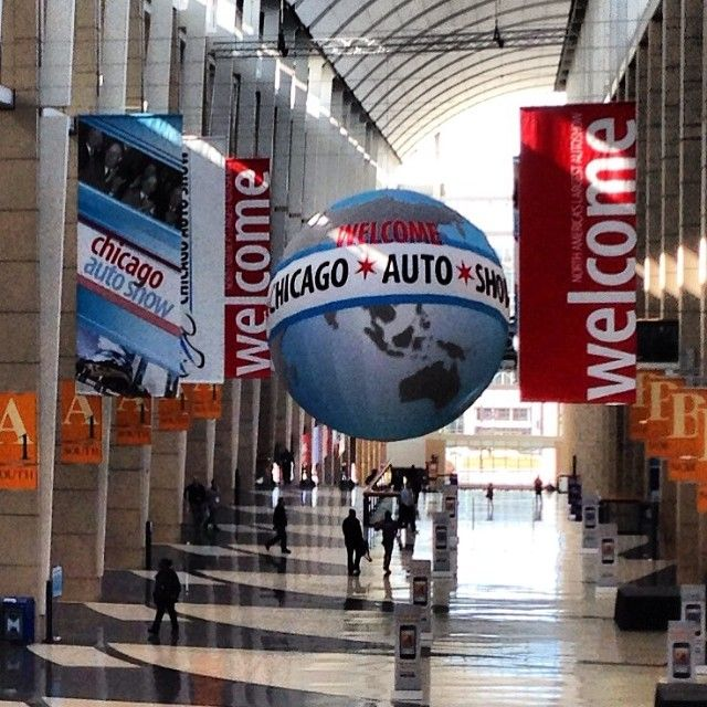 Welcome To The 2014 Chicago Auto Show!