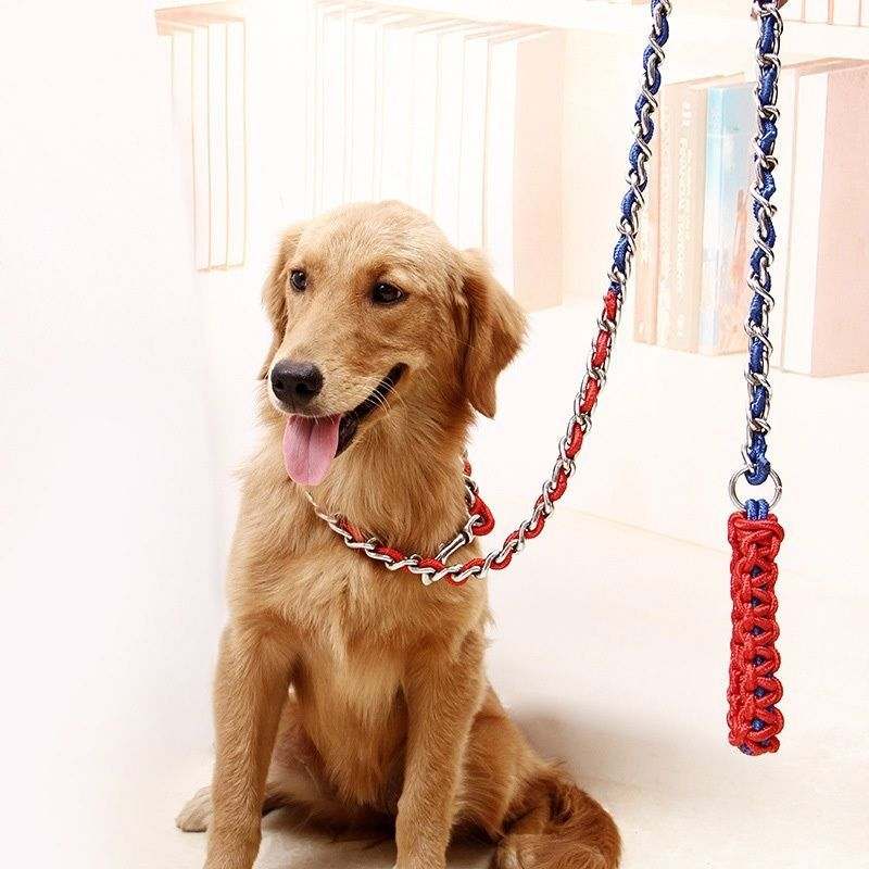8 83 Hot Pet Dog Long Slip Lead Leash Collar Strong Traction