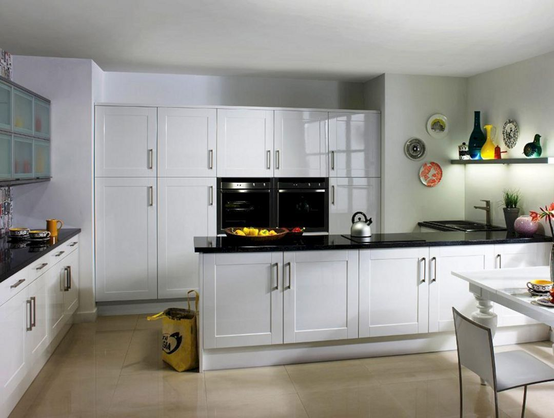 Best Modern White Shaker Kitchen Cabinets Shaker Style 400 x 300