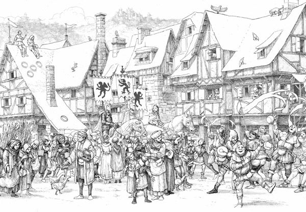 New Work by Levi Pinfold - Arena new blog | Coloring Pages ...