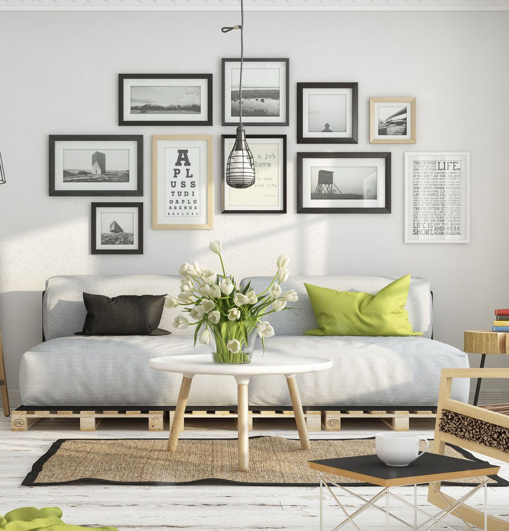 8 Clever Small Living Room Ideas With Scandi Style: On The Creative Market Blog