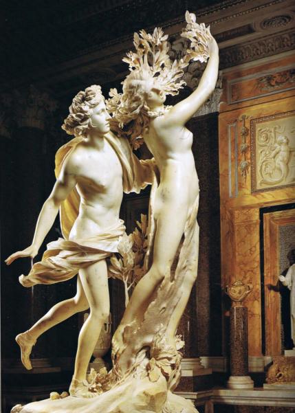 Le Bernin - Apollon et Daphné - 1635   Le bernin, Daphné, Apollon