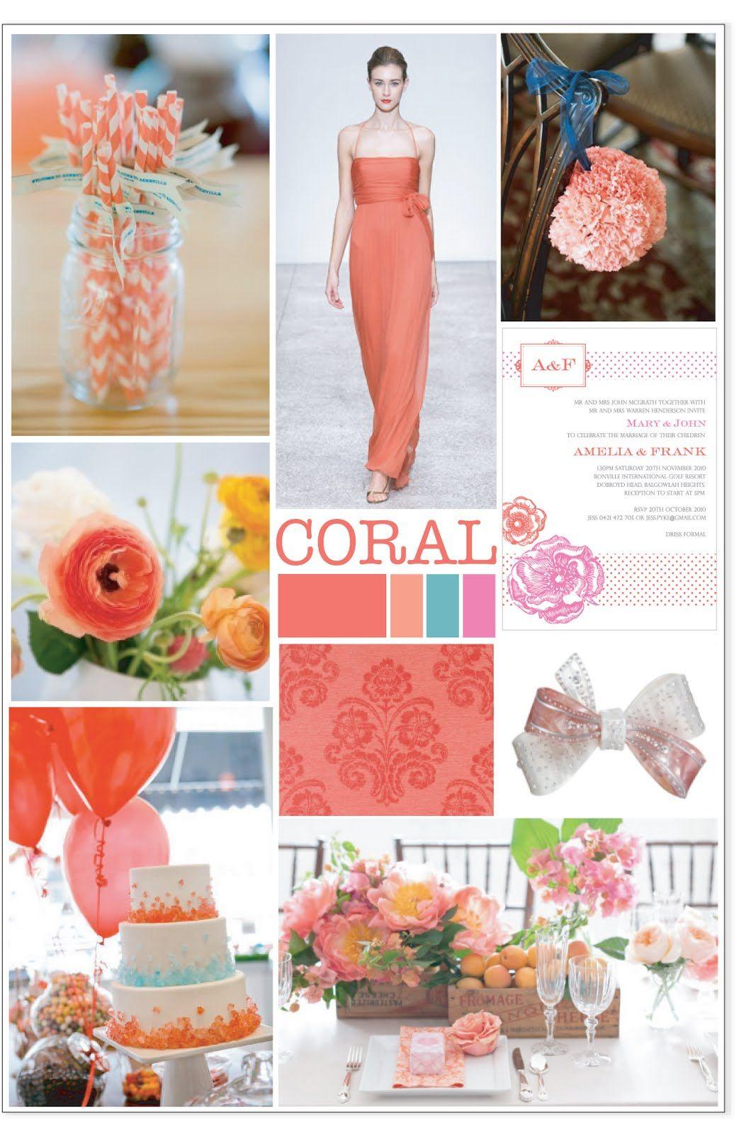 coral wedding decor beautiful 3 pinterest wedding wedding