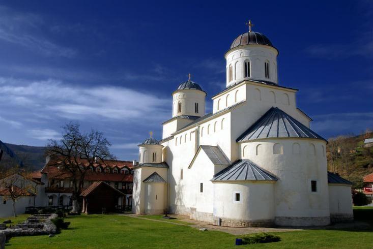 Mileševa protege a algunos de los más valiosos frescos que alguna vez fueron pintados en Serbia