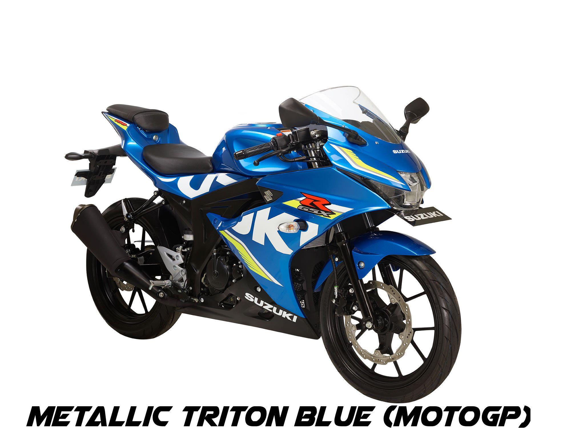 Gsx R150 Motor Biru Indonesia