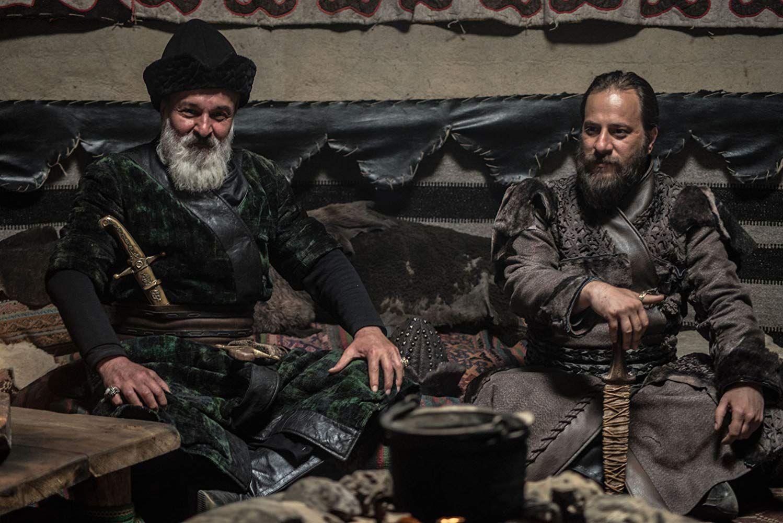 Hakan Vanli and Kaan Tasaner in Dirilis: Ertugrul (2014