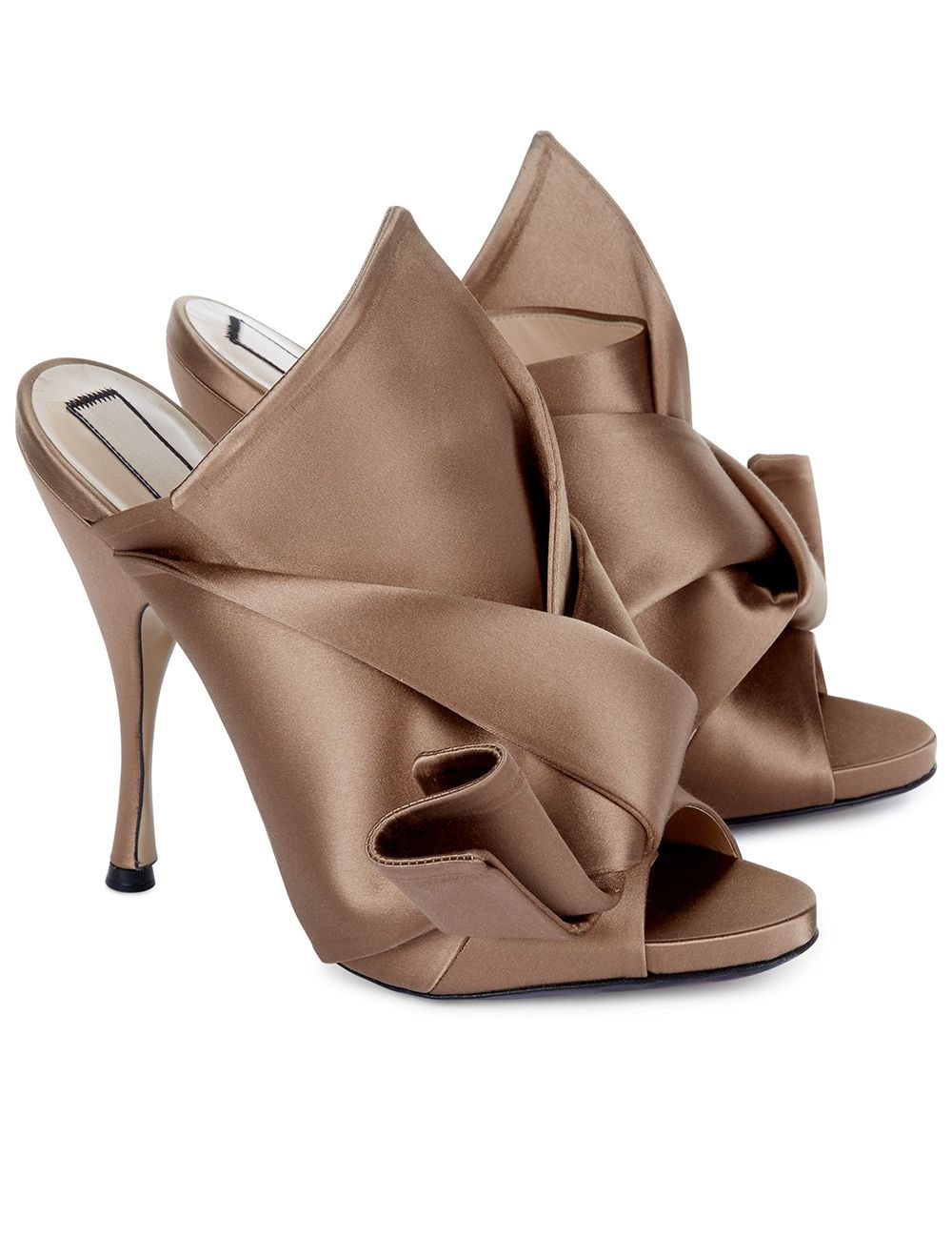 Cheap Price Buy Discount Clearance Cost No21 Bow Detail Mules Cheap Low Shipping Clearance Buy ESrDr0uyOY