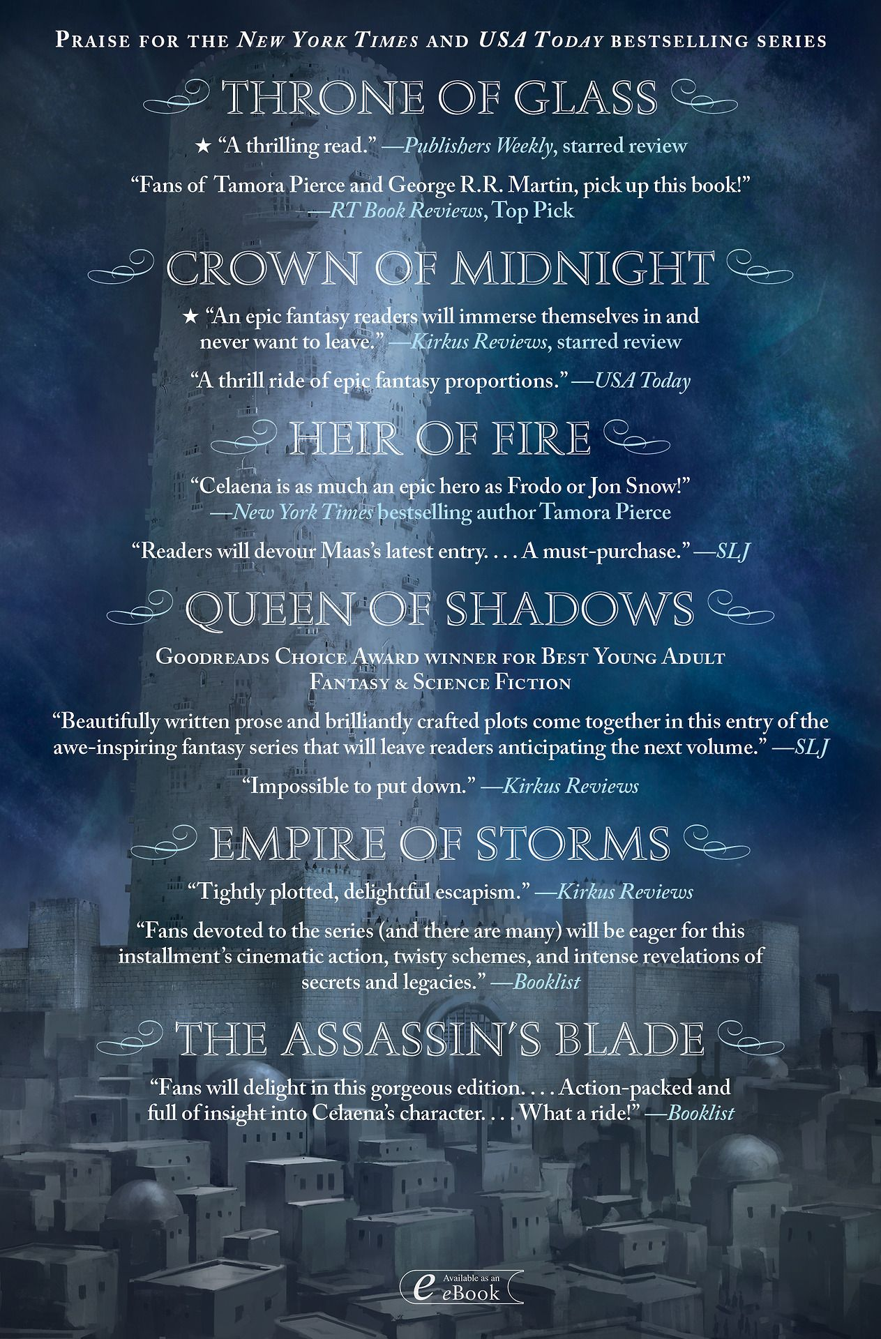 The Tower Of Dawn Back Covers Are Here Don T Forget To Preorder