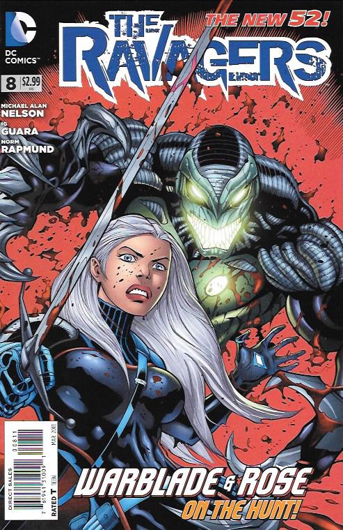 The Ravagers 8 DC Comics New 52