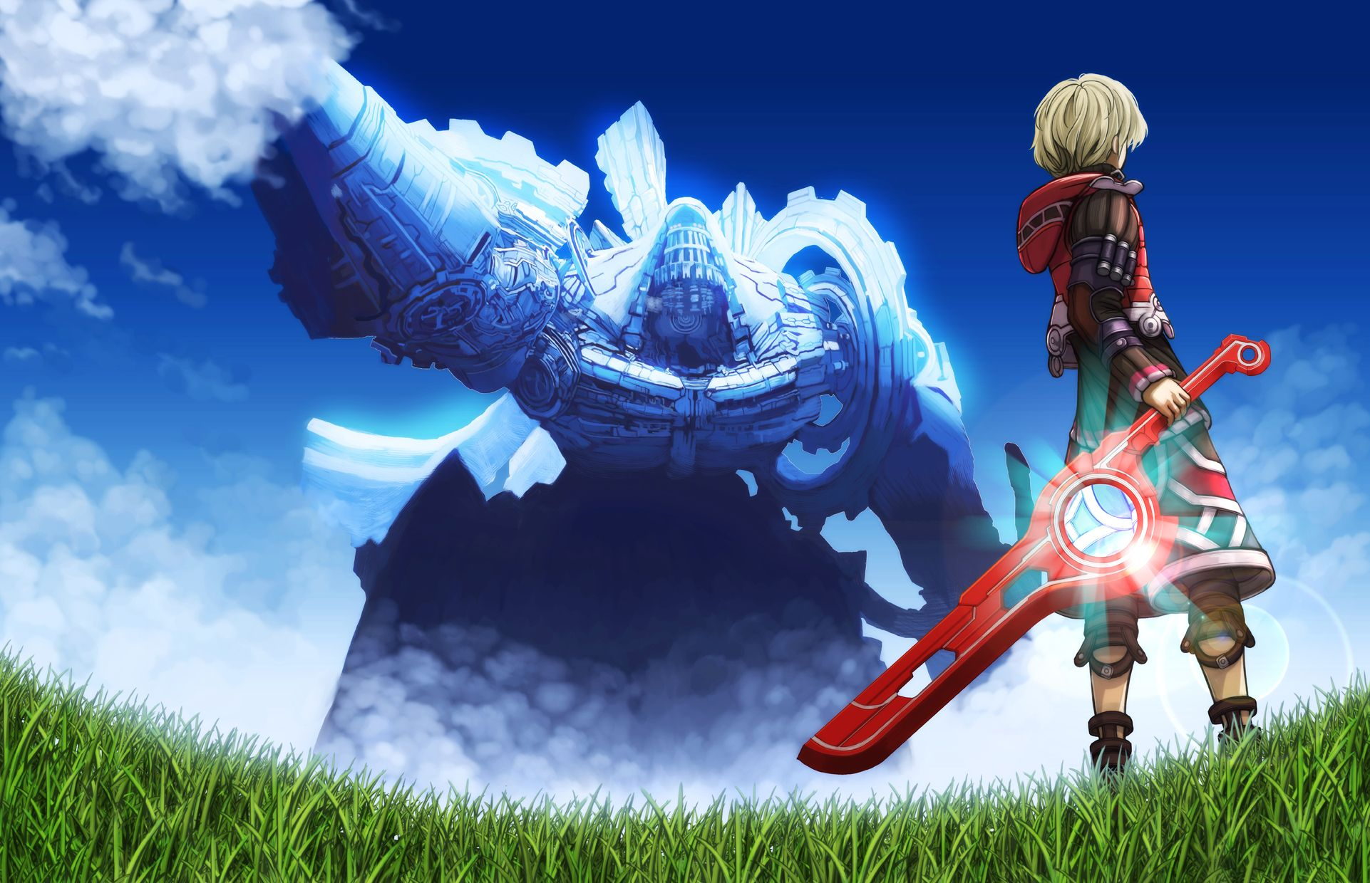 Xenoblade Chronicles Mechonis Shulk Xenoblade Chronicles
