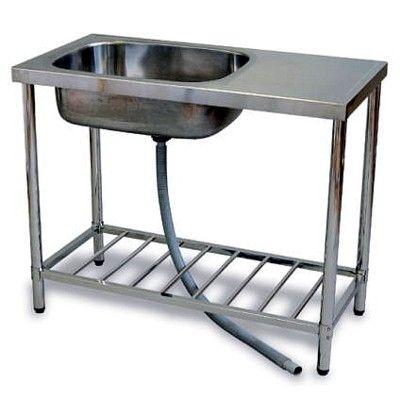 Fbird Rakuten Global Market I Beam Stainless Steel Sink Units Width 100 Cm Washing Outside The St 1000 Building Simple Kitchen Garden Sink Outdoor Kitchen