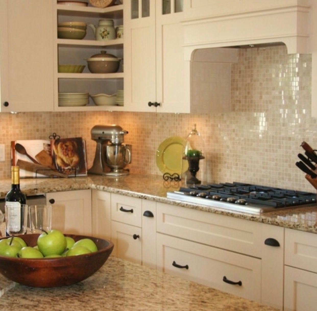 Pin By Tilebuys On Kitchen Design In 2020 Granite Countertops Kitchen Kitchen Backsplash Designs Cream Colored Kitchen Cabinets