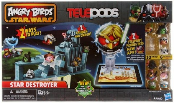 Hasbro S Angry Birds Star Wars Telepods Takes On Skylanders With