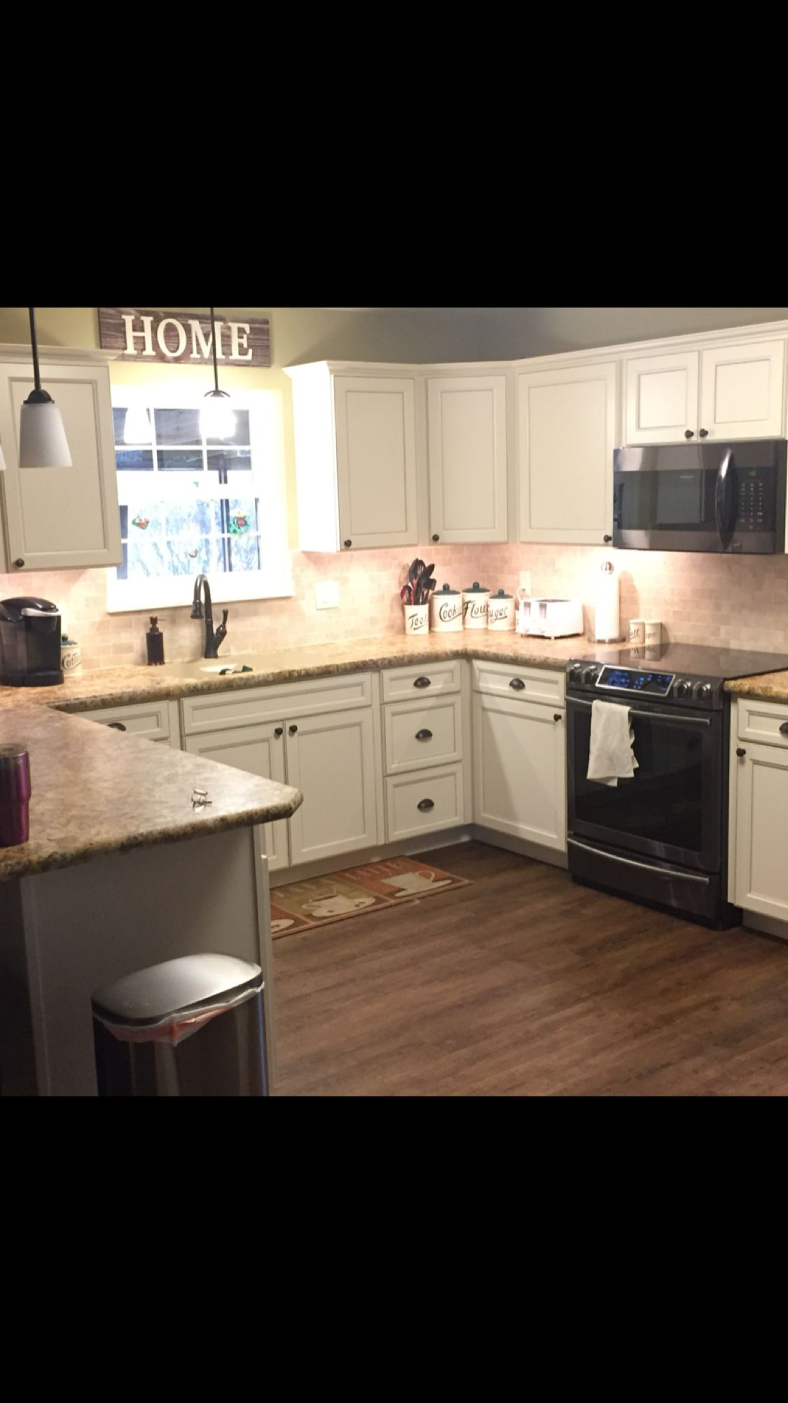 Love my Lowe's Caspian Cabinets (With images) | Cottage ...