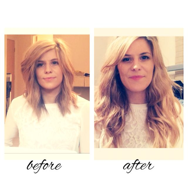 Check Out My Before And After Teaser Video Of The Halo Hair