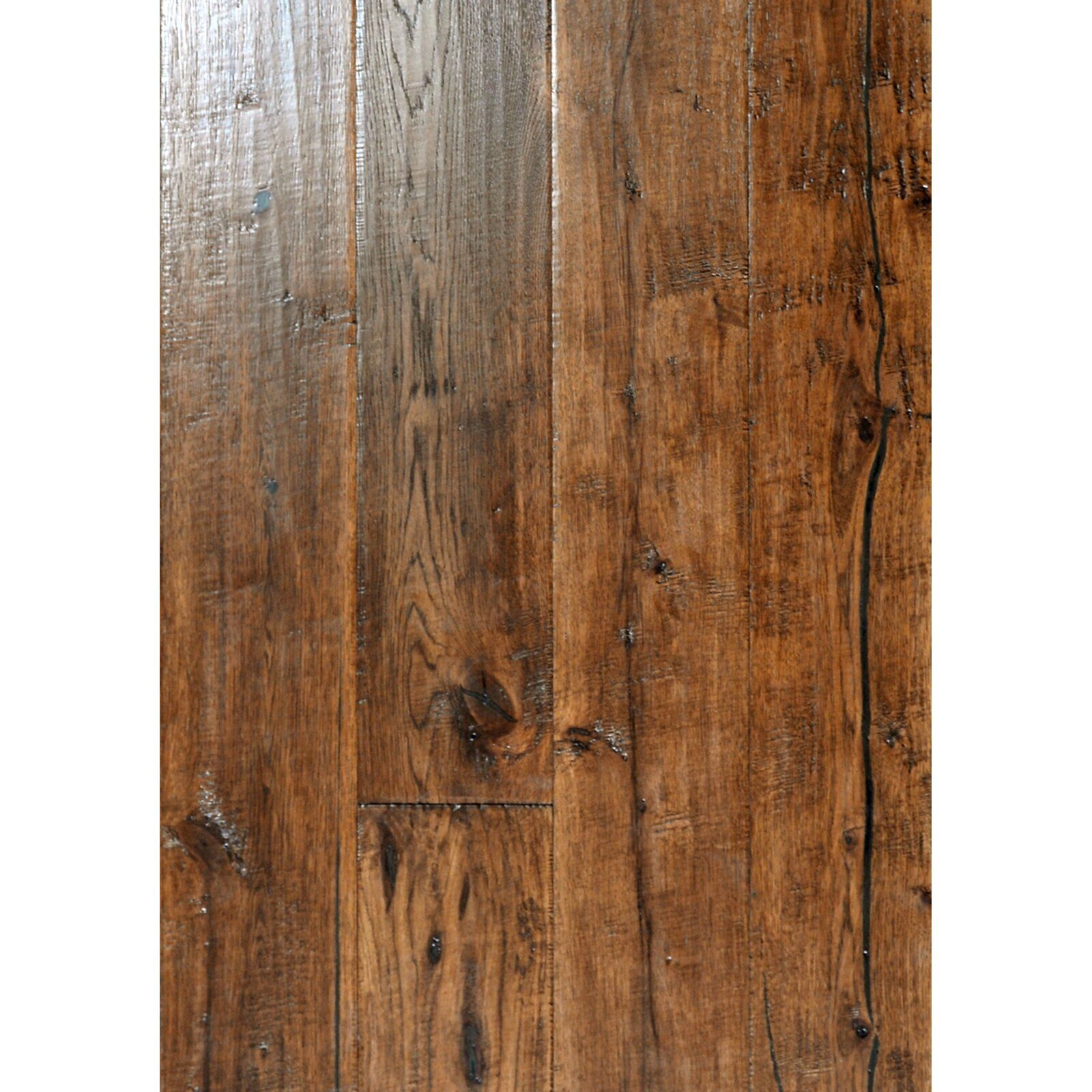Hickory 1 2 Thick X 7 1 2 Wide X Varying Length Engineered Hardwood Flooring In 2020 Hardwood Floors Engineered Hardwood Flooring Engineered Hardwood