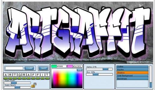 5 Cool Online Graffiti Creator Website Graffiti Graffiti Creator Graffiti Art