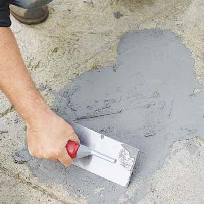 How To Seal Or Repair Holes In Concrete Floors
