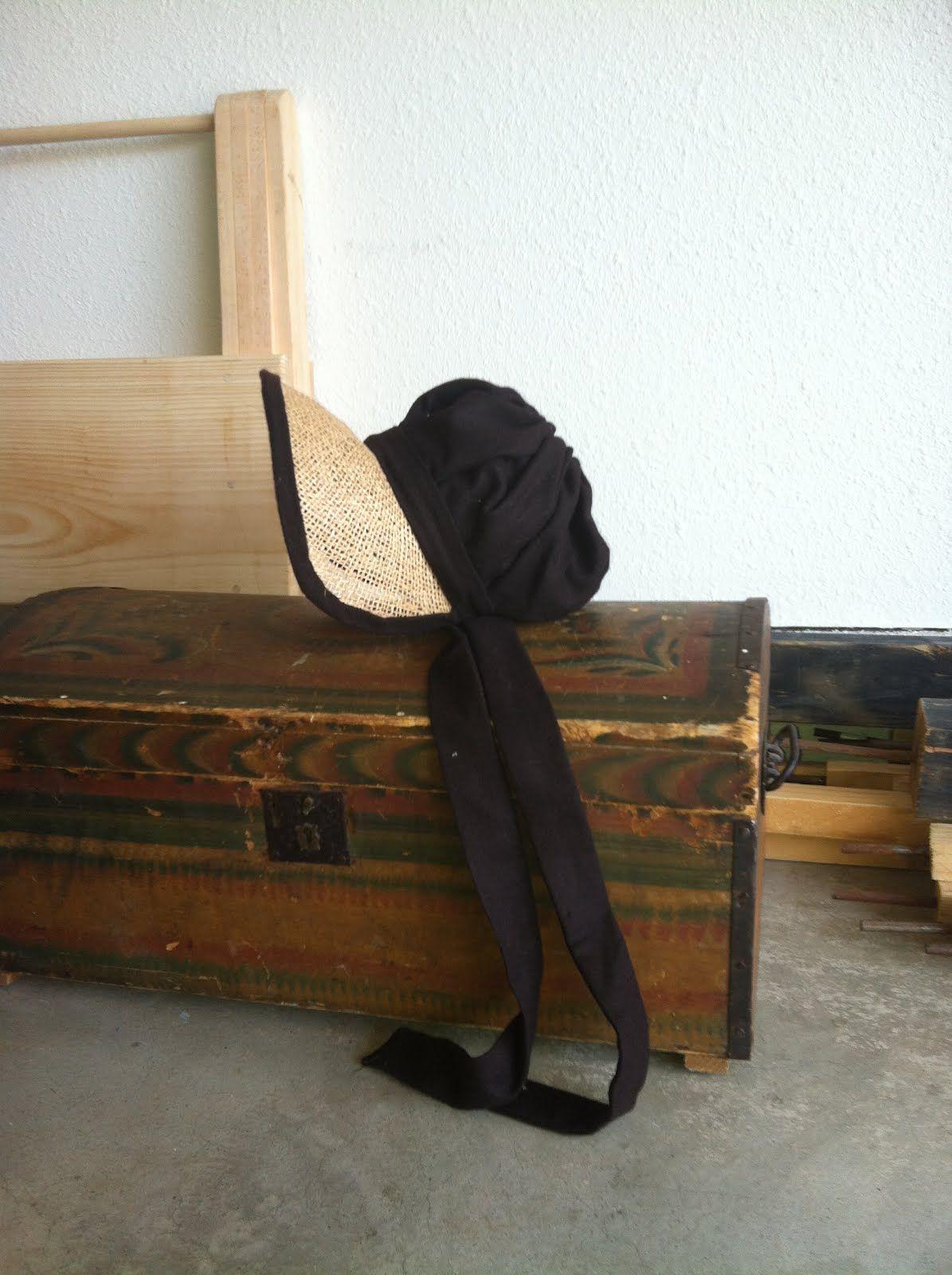 A regency poke bonnet tutorial for you to make