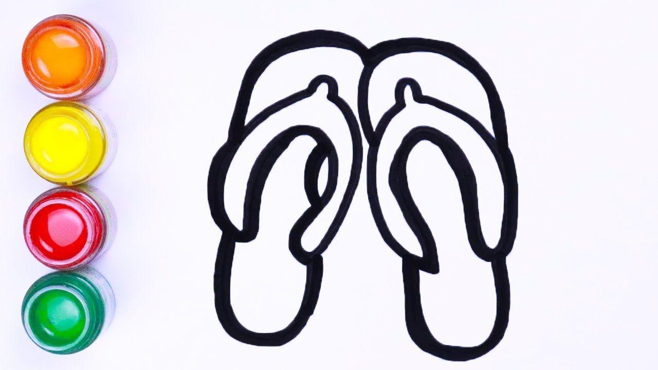 Menggambar Dan Mewarnai Sepatu Cara Menggambar Lukisan Warna